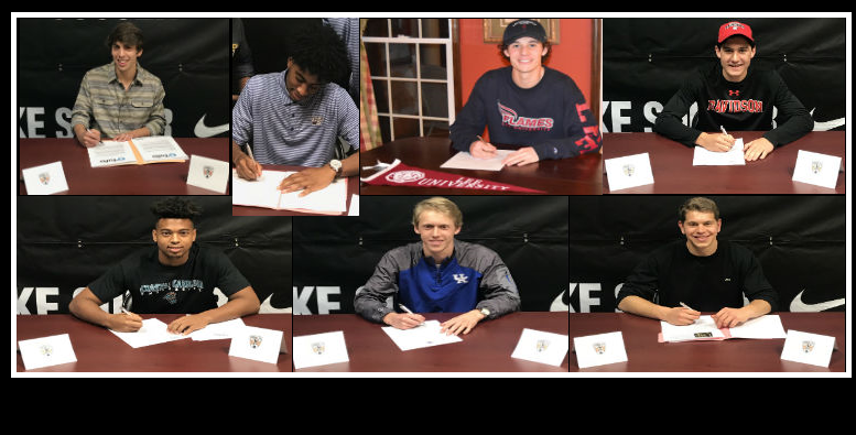 Concorde Fire Boys 2018 College Signings