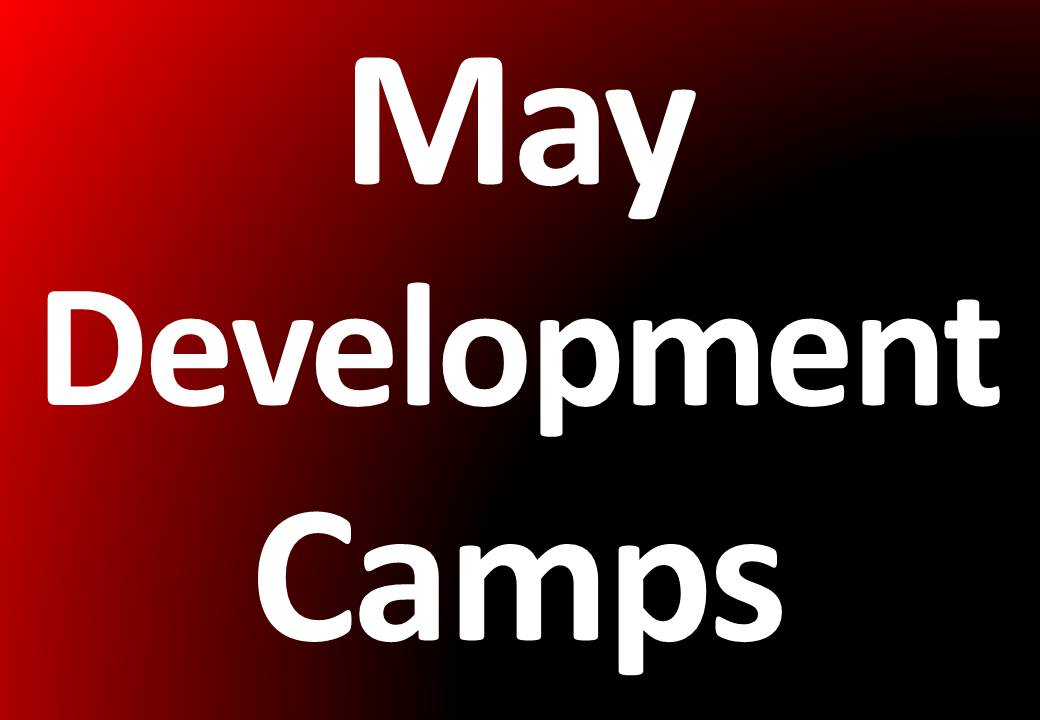 May Development Camps