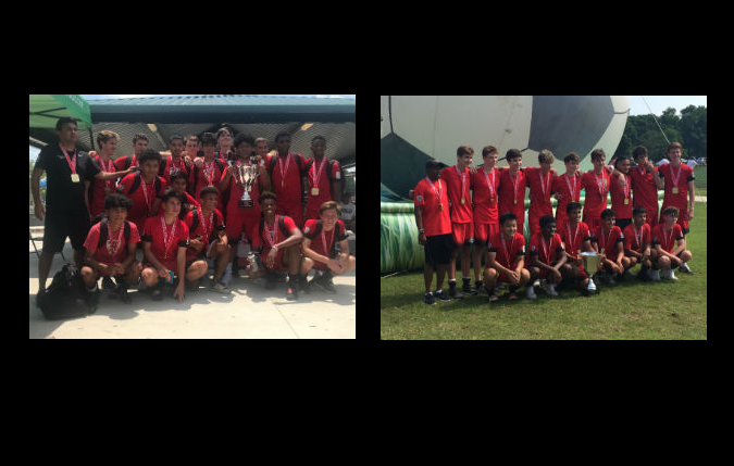 Congratulations to the U16 and U18 boys State Cup Champions