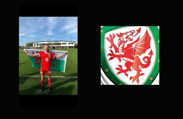 Zoe Looker - U15 ECNL Premier Getting a start for the U15 Womens Welsh National Team